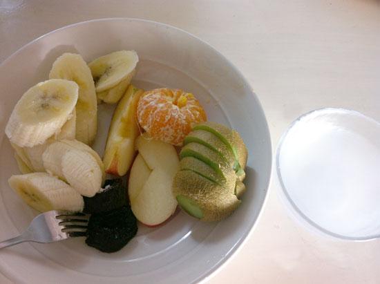 塩とフルーツ